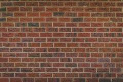 Een rode bakstenen muur royalty-vrije stock foto