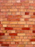 Een rode bakstenen muurtextuur stock fotografie