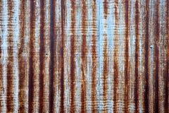 De roest van het zink Stock Fotografie
