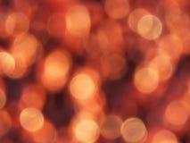 Een rood-en-geelonduidelijk beeld Stock Afbeelding