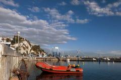 Een rubberbootrood Royalty-vrije Stock Foto's