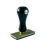 Een rubberzegel. Stock Afbeelding