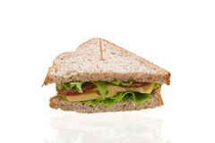 Een sandwich Stock Afbeelding