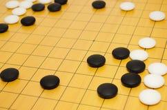 De scène van spel van gaat Stock Fotografie