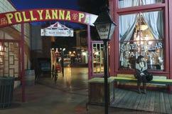 Een Scène van Top Piekkerstmis, Tucson, Arizona Royalty-vrije Stock Afbeeldingen