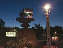 Een Scène van Top Piekkerstmis, Tucson, Arizona Stock Foto