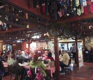 Een Scène van Top Pieksteakhouse, Tucson, Arizona Stock Afbeeldingen