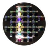 een schijf van het Halfgeleiderwafeltje royalty-vrije stock foto