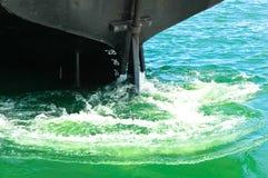 Een schip in beweging Royalty-vrije Stock Afbeelding