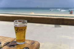 Een Schoener van Bier Royalty-vrije Stock Fotografie