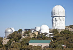 Een Schot van Kitt Peak National Observatory Stock Afbeeldingen