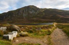 Een Schotse heuvel in het Nationale Park van Cairngorms royalty-vrije stock foto