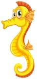 Een seahorse vector illustratie