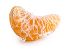Een segment van mandarin royalty-vrije stock fotografie