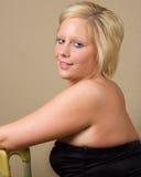 Een sensuele Blonde royalty-vrije stock foto's