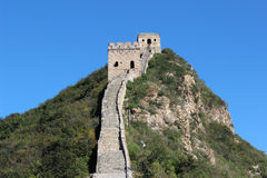Een Simitaideel van Grote Muur Peking Royalty-vrije Stock Foto's