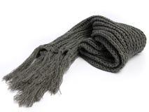 Een sjaal van wollen wordt gemaakt die royalty-vrije stock foto