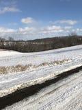 Een sneeuw mooie dag Royalty-vrije Stock Foto's