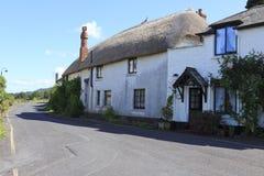 Een Somerset-plattelandshuisje Stock Foto's