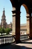 Een Spaans gebouw royalty-vrije stock foto