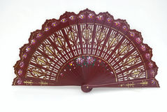 Een Spaanse ventilator Royalty-vrije Stock Afbeelding