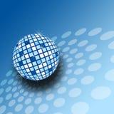 Een sparkly mirrorball illustratie Royalty-vrije Stock Foto's
