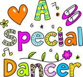Een speciale danser vector illustratie