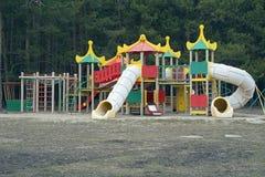 Een speelplaats in sanatorium Drie Holen Royalty-vrije Stock Foto's