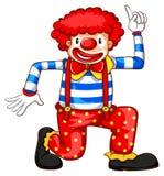 Een speelse clown Royalty-vrije Stock Foto's