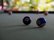 Een spel van pool royalty-vrije stock foto's