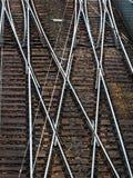 Een spoorwegschakelaar Royalty-vrije Stock Fotografie