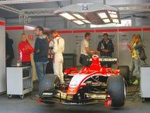 Een sportwagen van het team van Marussia F1 Royalty-vrije Stock Foto's