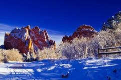 Een sprookjesland van de Winter Royalty-vrije Stock Fotografie