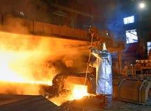 Een staalarbeider royalty-vrije stock afbeeldingen