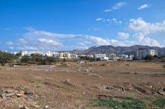 Een stad in de bergen Royalty-vrije Stock Foto's