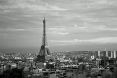 Een stad en het is toren Royalty-vrije Stock Fotografie