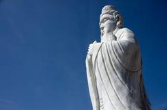 Standbeeld van Confucius Stock Foto's