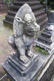 Een standbeeld in tempel van Thailand Royalty-vrije Stock Foto