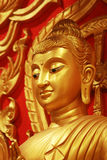 Een standbeeld van Boedha Stock Foto