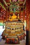 Een standbeeld van Boedha in Lampang van Thailand2 Royalty-vrije Stock Afbeeldingen
