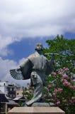 Een standbeeld van de uitvoerder van Okuni Kabuki, Kyoto Japan Royalty-vrije Stock Foto's