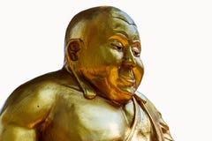 Een standbeeld van vette Boedha Stock Afbeeldingen