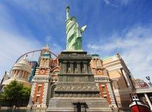 Een standbeeld van Vrijheid in New York - New York Stock Fotografie