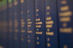 Een stapel boeken Stock Foto