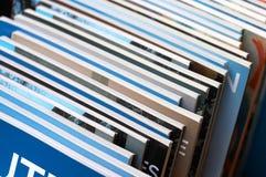 Een stapel boeken op verkoop Stock Foto