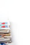 Een stapel brieven Royalty-vrije Stock Fotografie