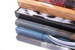 Een stapel notitieboekjes Stock Foto