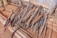 Een stapel van houten stok 2 Royalty-vrije Stock Afbeeldingen