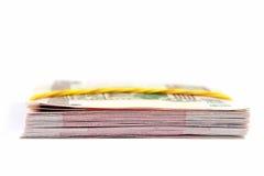 Een stapel van papiergeld Royalty-vrije Stock Afbeeldingen