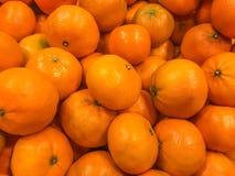Een stapel van sinaasappel Stock Afbeelding
